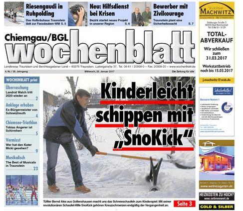 Wochenblatt Chiemgau/BGL 25.01.20175